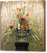 Theater Flower Arrangement Canvas Print