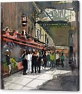Theater Restaurants London  Canvas Print