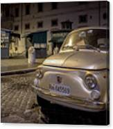 The Fiat 500 Canvas Print