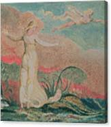 Thel In The Vale Of Har Canvas Print