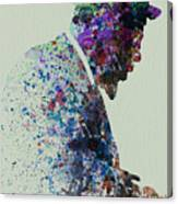 Thelonious Monk Watercolor 1 Canvas Print