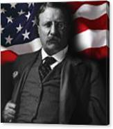 Theodore Roosevelt 26th President Of The United States Canvas Print