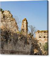 Theodosian Walls - View 10 Canvas Print