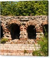 Theodosian Walls - View 13 Canvas Print