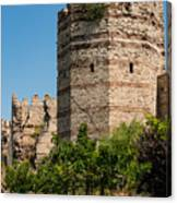 Theodosian Walls - View 3 Canvas Print