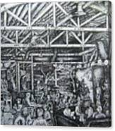 Theos Canvas Print
