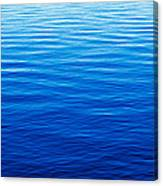These Are Water Reflections In Lake Canvas Print