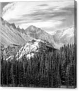 These Mountains Canvas Print
