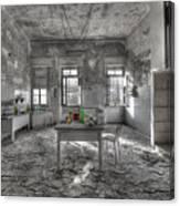 They Are All Gone - Se Ne Sono Andati Tutti Canvas Print