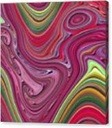 Thick Paint Abstract Canvas Print