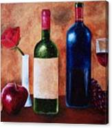 Thicker Than Wine Canvas Print