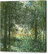 Thicket  The House Of Argenteuil Canvas Print