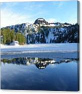 Thin Ice Canvas Print