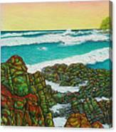 Third Bay Coolum Beach Triptych Canvas Print
