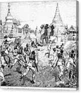 Third Burmese War, 1885 Canvas Print