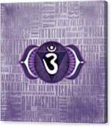 Third Eye Chakra - Awareness Canvas Print