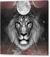 Third Eye Lion Vision Canvas Print