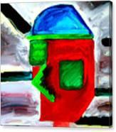 Third Millenium Man Canvas Print