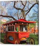 Third Ward - Popcorn Wagon Canvas Print