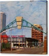 Third Ward Arch Over Public Market Canvas Print