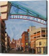 Third Ward Entry Canvas Print