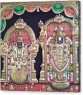 Thirupathi Canvas Print