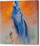 This Bird Had Flown Canvas Print
