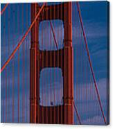 This Is A Close Up Of The Golden Gate Canvas Print