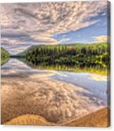 This Is British Columbia No.28 - Conkle Lake Canvas Print
