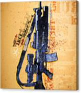This Is My Rifle Riflemans Creed Canvas Print