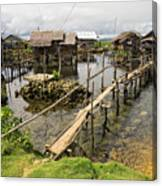 This Is The Philippines No.10 - Pilar Fishing Village Canvas Print