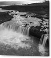Thofafoss Waterfall Iceland 1538 Canvas Print