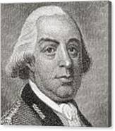 Thomas Gage, 1719 To1787. British Canvas Print