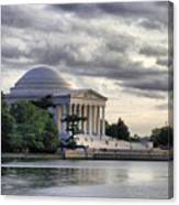 Thomas Jefferson Memorial Canvas Print