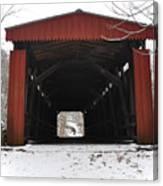 Thomas Mill Road Covered Bridge Canvas Print