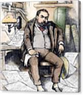 Thomas Nast (1840-1902) Canvas Print