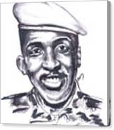 Thomas Sankara 02 Canvas Print