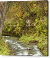 Thompson Creek Autumn 1 B Canvas Print