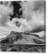Thompson Springs Gathering Thunderstorm - Utah Canvas Print
