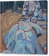 Thomson Cairn Canvas Print