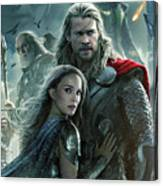 Thor 2 The Dark World 2013 Canvas Print