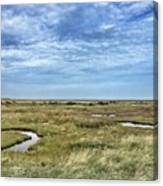 Thornham Marshes, Norfolk Canvas Print