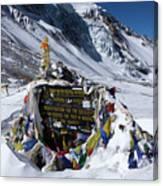 Thorong La Pass, Annapurna Circuit, Nepal Canvas Print