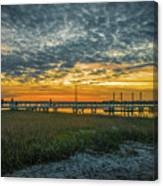Those Southern Sunsets Canvas Print