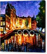 Thoughtful Amsterdam Canvas Print
