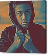 Thoughtful Youth 11 Canvas Print