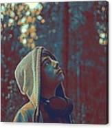 Thoughtful Youth 12 Canvas Print