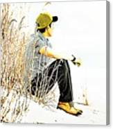 Thoughtful Youth 6 Canvas Print