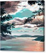 Thousand Island Sunset Canvas Print