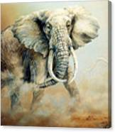 Threat Charge Canvas Print